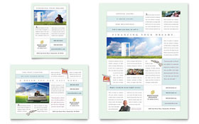 Mortgage Lenders - Flyer & Ad Template