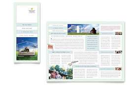 Mortgage Lenders - Tri Fold Brochure Template
