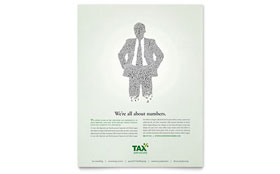 Accounting & Tax Services - Flyer