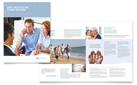 Estate Planning - Brochure Template Design Sample