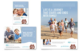 Estate Planning - Flyer & Ad Template Design Sample