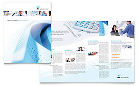 Accounting Firm - Microsoft Word Brochure Template