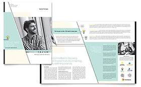 Venture Capital Firm - Microsoft Word Brochure Template