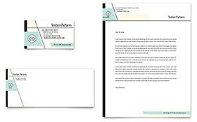 Venture Capital Firm - Business Card & Letterhead Template