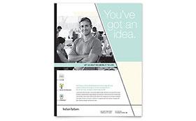 Venture Capital Firm - Flyer Template