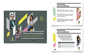 Personal Finance - Microsoft PowerPoint Template