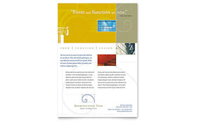 Architectural Firm - Flyer