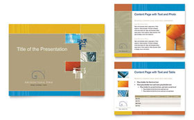 Architectural Firm - PowerPoint Presentation Sample Template