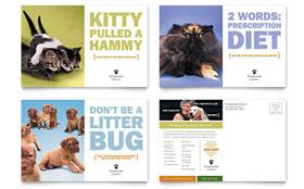 Veterinarian Clinic - Postcard Sample Template