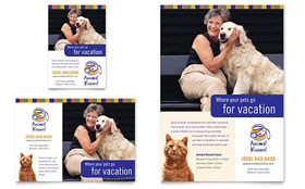Dog Kennel & Pet Day Care - Flyer & Ad Template
