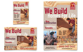 Home Builder & Contractor - Flyer & Ad Template