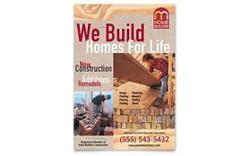 Home Builder & Contractor - Flyer Template