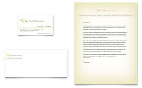 Attorney & Legal Services - Business Card Sample Template