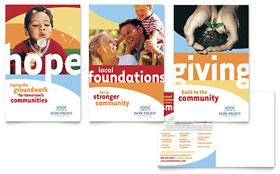 Community Non Profit - Postcard Template