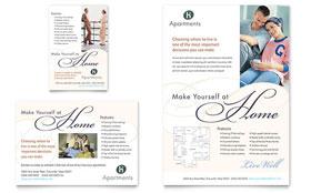 Apartment & Condominium - Flyer & Ad Template