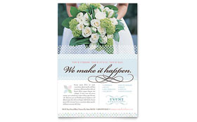 Wedding & Event Planning - Flyer Template