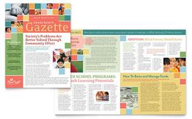 Non Profit Association for Children - Newsletter Template