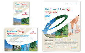 Utility & Energy Company - Flyer & Ad Template