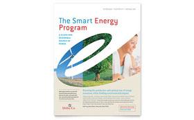 Utility & Energy Company - Flyer Template