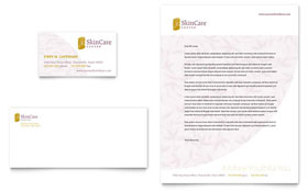 Skin Care Clinic - Letterhead Sample Template