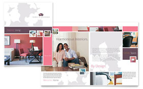 Interior Designer - Apple iWork Pages Brochure Template