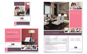 Interior Designer - Flyer & Ad Template Design Sample