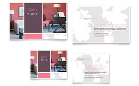 Interior Designer - Note Card Sample Template