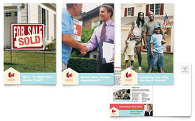 Home Real Estate - Postcard Sample Template