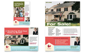 Home Real Estate - Flyer & Ad Template Design Sample