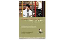 Lawyer & Law Firm - Flyer