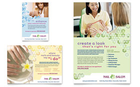 Nail Salon - Flyer & Ad