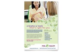 Nail Salon - Flyer