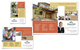 Realtor & Real Estate Agency - Print Ad Sample Template