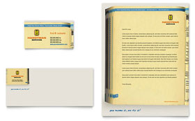 Home Repair Services - Business Card & Letterhead Template Design Sample