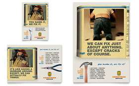 Home Repair Services - Flyer & Ad Template