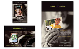 Photography Studio - Flyer & Ad Template Design Sample