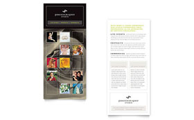 Photography Studio - Rack Card Sample Template