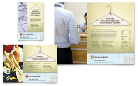 Laundry & Dry Cleaners - Flyer & Ad