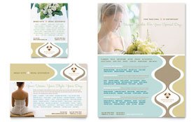 Wedding Store & Supplies - Flyer & Ad Template Design Sample