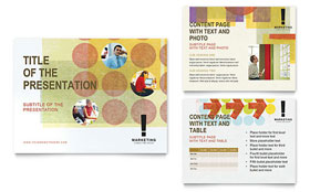 Marketing Consultant - PowerPoint Presentation Template