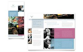 Limousine Service - Brochure Template