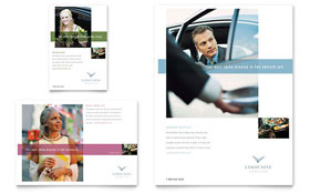 Limousine Service - Flyer & Ad Template Design Sample