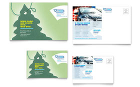 Car Cleaning - Postcard Template Design Sample