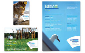 Car Cleaning - Flyer & Ad Template Design Sample
