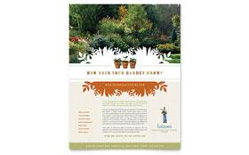 Landscape & Garden Store - Flyer Template