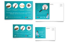 Pest Control Services - Postcard Sample Template