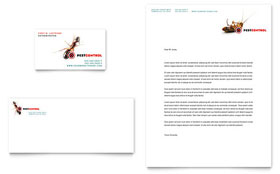 Pest Control Services - Business Card & Letterhead Template Design Sample