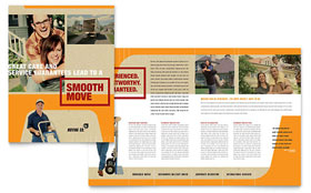 Movers & Moving Company - Business Marketing Brochure