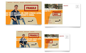 Movers & Moving Company - Postcard Template