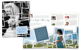 Photographer - Apple iWork Pages Brochure Template